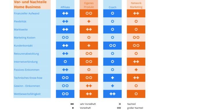 Vor und Nachteile Business Modelle-1